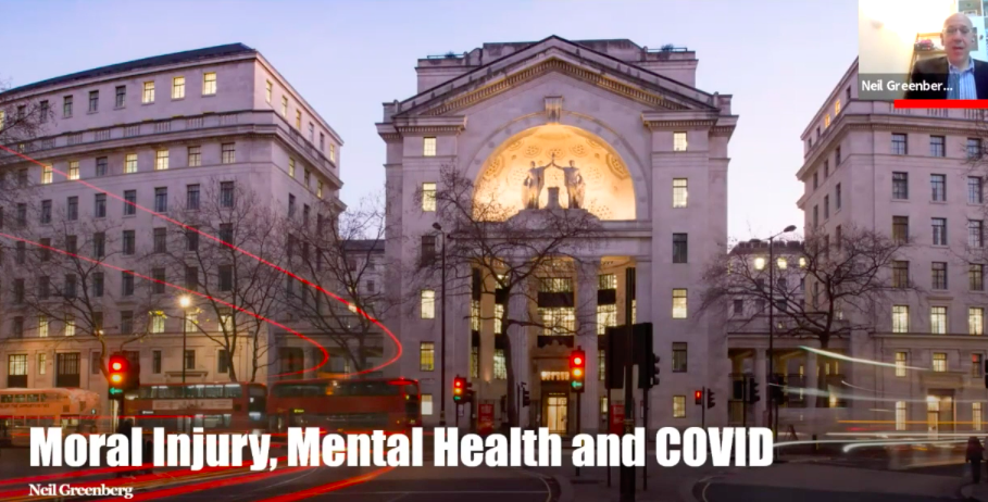 Moral Injury, Mental Health & Covid